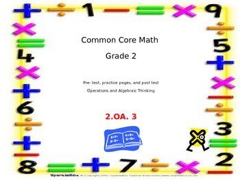 Common Core Grade 2 Math 2.OA.3