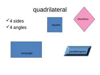 Common Core Grade 2 Shapes Powerpoint