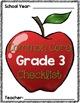Common Core Checklist: Grade 3