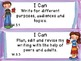 "Common Core Grade 3  ""I Can"" Statements and Checklists for"