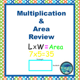 Grade 3 Multiplication and Area Review