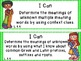 """Common Core Grade 4  """"I Can"""" Statements and Checklists for Language"""