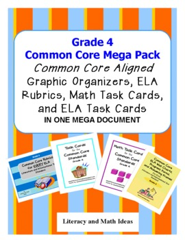 Common Core Grade 4 Mega Pack