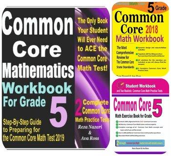 Common Core Grade 5 Math Comprehensive Preparation Bundle