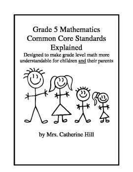 Common Core Grade 5 math explained