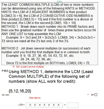 """Grade 6 Common Core Summary & 10 Sample """"FINALS"""" (2 for each domain)"""