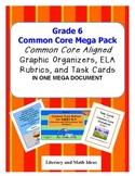 Common Core Grade 6 Mega Pack