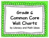 Common Core Grade 6 Wall Charts