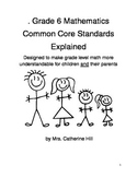 Common Core Grade 6 math explained