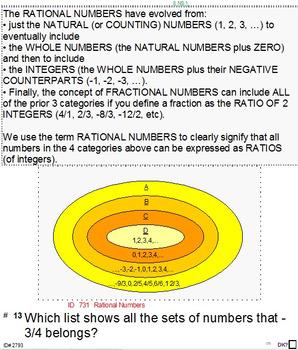 """Grade 8 Common Core Summary & 10 Sample """"FINALS"""" (2 for ea"""