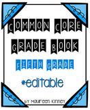 Common Core Gradebook 5th Grade *Editable