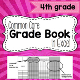 Common Core Grade Book {Fourth Grade}