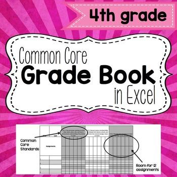Common Core Grade Book {Fourth Grade}