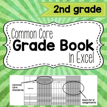 Common Core Grade Book {Second Grade}