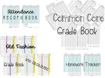 Common Core Grade Book and More 1st Grade