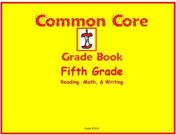 Common Core Grade Book for Fifth Grade