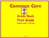 Common Core Grade Book for First Grade