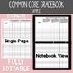 Common Core Gradebook 3rd Grade Teacher Binder