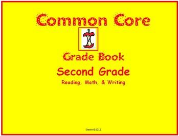 Common Core Gradebook for Second Grade