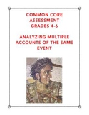 Common Core RI.5.6: Analyzing Multiple Accounts of the Same Event