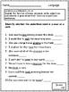 Common Core Grammar Assessments