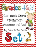 Common Core Grammar Practice for Grades 4 and 5!