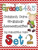 Common Core Grammar Practice for Grades 4 and 5!