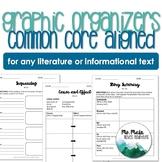Common Core Graphic Organizer Bundle