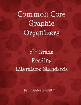 Common Core Graphic Organizers - 2nd Grade - Reading: Literature Standards