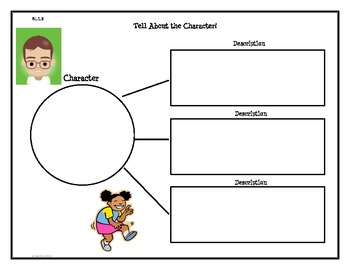 Common Core Graphic Organizers - First Grade Reading: Literature