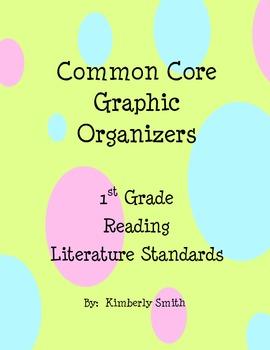 Common Core Graphic Organizers - First Grade Reading: Literature