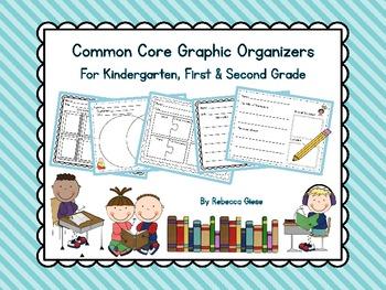 Common Core Graphic Organizers {Grades K, 1 & 2}