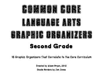 Common Core Graphic Organizers- Language Arts-Grade Two