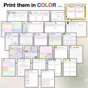 Common Core Science Graphic Organizers
