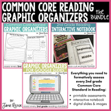 Common Core Graphic Organizers BUNDLE | 2nd Grade Formativ