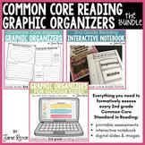Common Core Graphic Organizers BUNDLE   2nd Grade Formativ