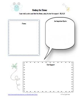 Common Core Graphic Organizers for 3rd Grade