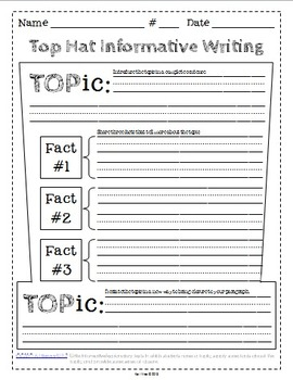 expository writing graphic organizers Paragraph structure graphic organizers a paragraph is a unit of writing that consists of one or more sentences focusing on a single idea or topic.