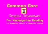 Common Core Graphic Organizers for Kindergarten