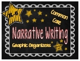 Common Core Graphic Organizers for Narrative Writing {Grades K-6} Roller Coaster