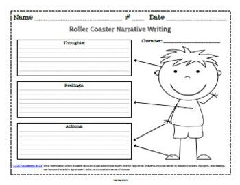 writing a narrative essay graphic organizer for grade 3