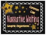 Common Core Graphic Organizers for Narrative Writing {Grad