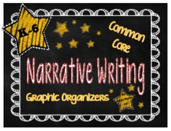 Common Core Graphic Organizers for Narrative Writing {Grad
