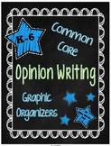 Opinion Writing Graphic Organizers for Common Core {Grades