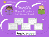 ReadyGen 2016 edition: Unit 2 Module A Graphic Organizers.