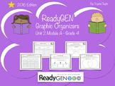ReadyGen 2016 edition: Unit 2 Module A Graphic Organizers.
