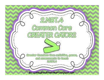 Common Core Greater Gators Activities 2.NBT.4