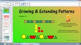Growing and Extending Patterns for the SMART Board