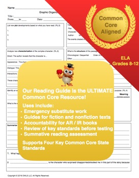 Common Core Guided Reading