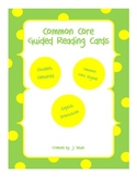 ******Common Core Guided Reading Cards *****